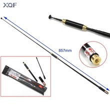 AL-800 SMA-Male Telescopic Antenna dual band for walkie talkie BAOFENG UV-3R TONFA 985 TYT TH-F5 Yaesu VX-3R/6R/7R two-way radio
