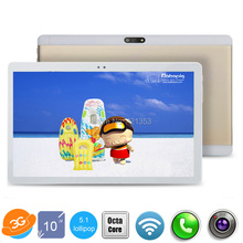 ZFINER 10 inch tablet Octa Core 4GB RAM 64GB ROM 3G WCDMA Unlock Android 5.1 1280*1200 IPS Dual SIM Cards tablet 10 10.1