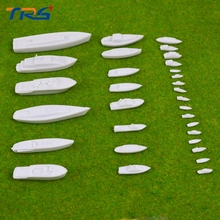 21pcs scale model ship model warships aircraft carrier USS plastic white model boats with length 1-9cm