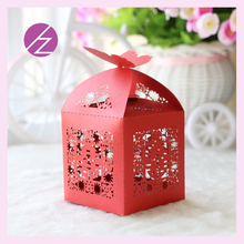 50 pcs/lot Free Shipping Sweet cake box for wedding laser cut pearl paper candy box Chinese style manufacture and wholesaler