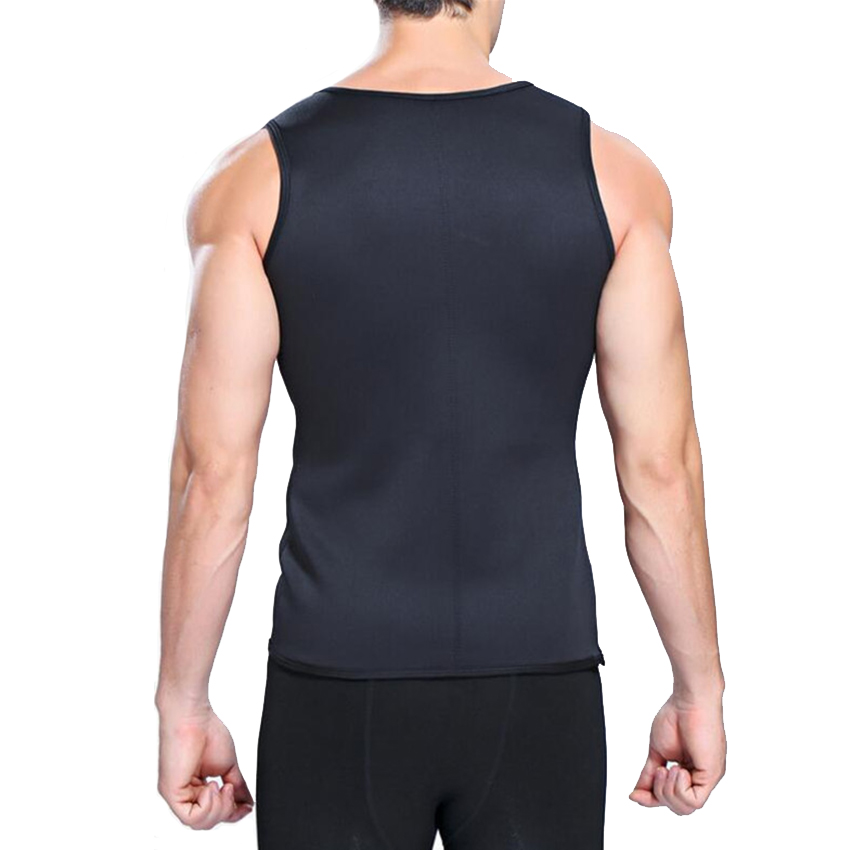 Slimming Belt Belly Men Slimming Vest Body Shaper Neoprene Abdomen Fat Burning Shaperwear Waist Sweat Corset Weight Loss 15