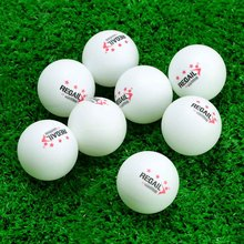 50Pcs Orange White Ping Pong Balls 3-Star 40mm Table Tennis Balls