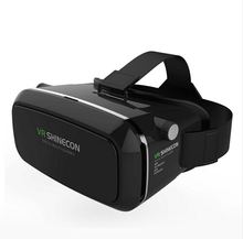 Shinecon VR Virtual Reality 3D Glasses Headset  Head Mount Movie Game 3.5-6.0 Inch Phone Google Cardboard