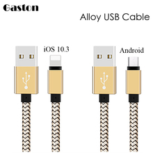Short USB Micro USB Charger Cable for iPhone 7 6 6s 5s iPad mini Samsung Sony Xiaomi HTC Android Power Bank Charging USB Cable 3