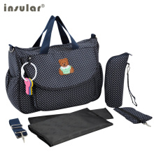Baby Diaper Bags Designer Maternity Nappy Bags High Quality Multifunctional Handbags For Moms Stroller Bags With Big Capacity(China)