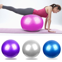 2017 New Fitness Yoga Ball Smooth Balance Gym Exercise Balance Pilates Balls With Pump  shop BB55