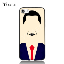 Obama Minimalism Fun Art For iPhone 6 6s 7 Plus Case TPU Phone Cases Cover Mobile Protection Decor Gift