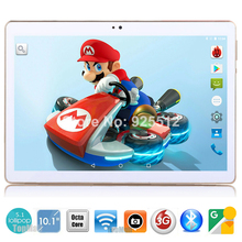 2017 Android tablet 10 inch Octa Core 3G Phone Call 4GB RAM 32GB ROM 1280*800 IPS Dual Cameras Android 5.1 GPS Tablets 10 10.1