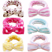 2017 New Spa Bath Shower Make Up Wash Face Cosmetic Headband Hair Band Accessories Sale(China)