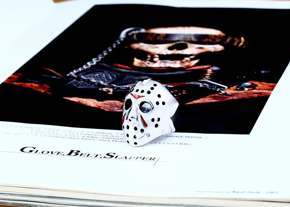 แหวนแฟชั่น Code 059 Friday 13 Series 2 สแตนเลส หน้ากากเจสันโหดๆ1