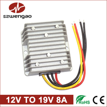 Wengao @ Step Up DC/DC Converter 12V to 19V 8A Boost Voltage Regulator, 150W Car Laptop Power Supply