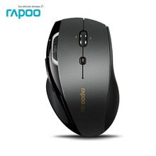 Rapoo 7800P 5G Laser Wireless mouse with 8 customized key Ergonomic 1600 DPI Wirelss Gaming Mouse for Big Hand /office Designers