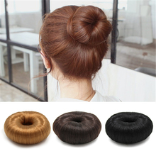 3 Colors Women Girl Modern Korean Style Donut Hairpiece Hair Band Rope Coil Updo Maker Accessories