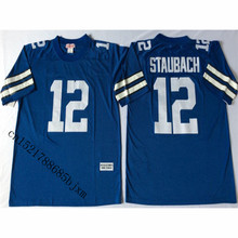 Mens Retro Roger Staubach Stitched Name&Number Throwback Football Jersey Size M-3XL(China)