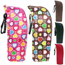5 Colors Bottle Insulation Storage Bag,Children Water Bottle Warmers Stroller Hanging Bags,Travelling With Baby Care Organizer