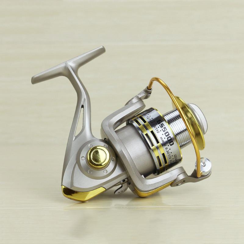 Metal Fishing Reel 8 Bearing Balls Fishing Spinneret 5.11 1000-7000 Series Fishing Line Wheel Gear Tackles GS1000-7000 (6)
