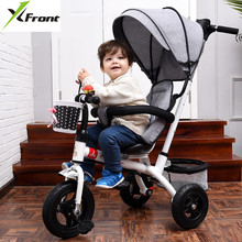 Buy New Brand 1-6 Years Child tricycle High swivel seat child tricycle bicycle baby buggy stroller BMX Baby Car Bike for $197.20 in AliExpress store