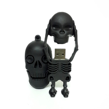 3 Styles Skull Usb Flash Drive Pen Drive Pendrives 4G 8G 16G 32G U Disk Flash Card hot sale Memory stick(China)
