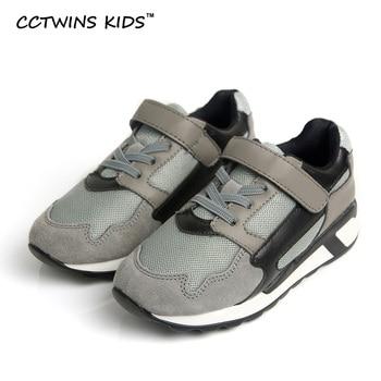 CCTWINS CRIANÇAS baby girl 2017 primavera couro genuíno sapato casual para crianças moda esporte branco trainer marca menino sneaker plana