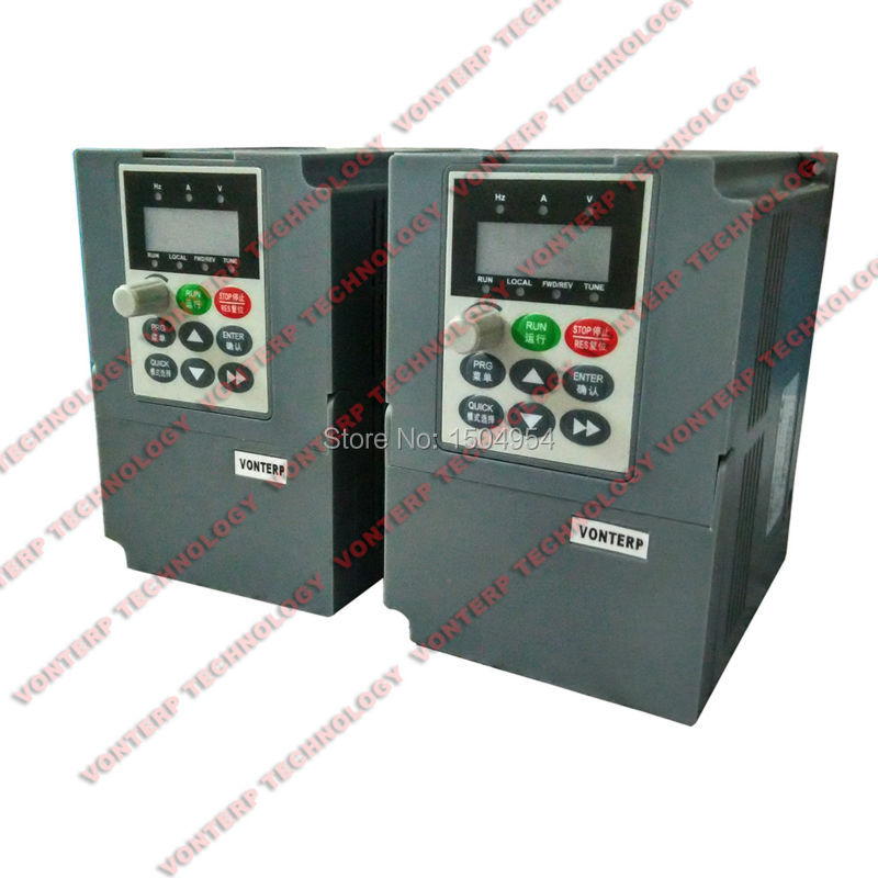 220v 1.5kw 1 phase input and 220v 3 phase outout  Vector frequency converter/VFD<br><br>Aliexpress