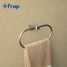 Frap Antique Style Ring Wall Mount Towel Ring Bathroom Accessories Bath Towel Holder Bath Hardware F1404(China)