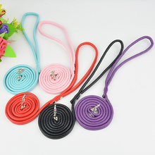 New  Pu Leather Soft Leashes Leads for Small Dog Pet Cat