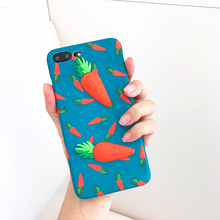 Hepu Two carrots for iphone7 apple 7 generation 6s phone shell apple iphone 6s plus frosted sets of fresh and lovely