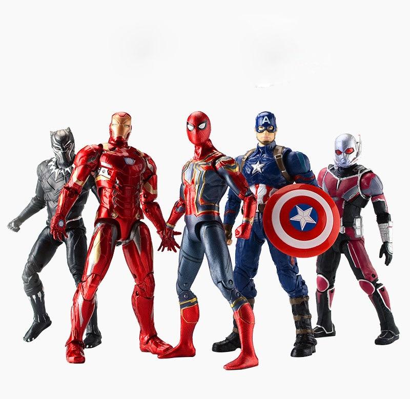 Marvel Hero Avengers Iron Man Spider Hulk Thor Captin America Lunch Box Bento