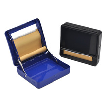 Different Color Metal Rolling Machine Case Storage Case For 70 MM Rolling Paper Cigarette Roller Tobacco case Cigarette Maker(China)