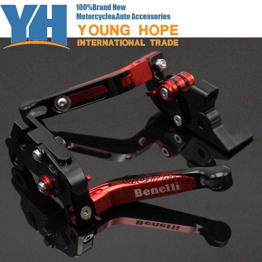 Folding Extendable Brake Clutch Levers for Benelli TNT300 TNT600 BN600 BN302 Stels600 Keeway RK6/BN TNT 300 302 600<br>