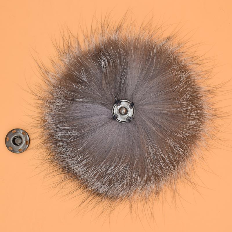 silver fox fur pompom 2