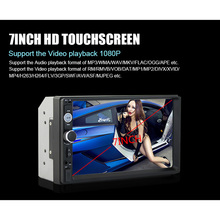 Car Radio Vehicle Audio Stereo In-dash 2 Din FM Aux Input Receiver SD USB MP3 MMC WMA Car Radio Player