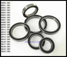 10pcs/Lot 6803-2RS 6803 RS 17x26x5mm The Rubber Sealing Cover Thin Wall Deep Groove Ball Bearing Brand New(China)