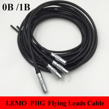 LEMO Connector PHG 0B 1B 2 3 4 5 6 7 8 9 10 14 16 Pin Connector Welding Cable 1M RRI MINI Camera Power Flying Leads Cable