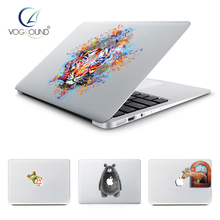 VOGROUND Lovely Animal Pattern Sticker Anti-Scratch Ultra Thin Cute Cartoon Vinyl Decal Cover for Macbook 11 12 13 15 inch