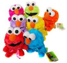 BOHS Pelucia Genuine Original Elmo Sesame Street Plush Toy Doll 7 Colors , 10-18CM(China)