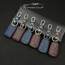 Car Key Cover Case Shell Bag For Cadillac CTS DTS ATS 28T CTS-V STS XTS coupe SRX Escalade srx atsl xts 2015 Car Key car styling(China)