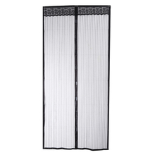 100 x 210CM Curtain Anti Mosquito Magnetic Tulle Shower Curtain  Left and Right Biparti Open Door Screen Summer Style Mesh Net