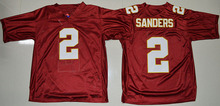 Men's Florida State Seminoles Jameis Winston Dalvin Cook Deion Sanders jersey(China)