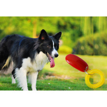 New Hot Sale Pet Dog Training Clickers Big Button Clicker With Wrist Band Click Train Pet Dog FG