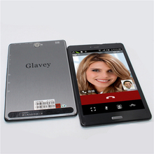 Glavey 7.85 inch 3g gsm Phone call tablets MTK8312 512B/8GB dual camera android 4.2 FM Bluetooth WIFI OTG tablet pc