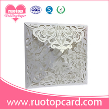 newest customized wedding invitation with envelope for wedding decoration custom gift card directly wholesale