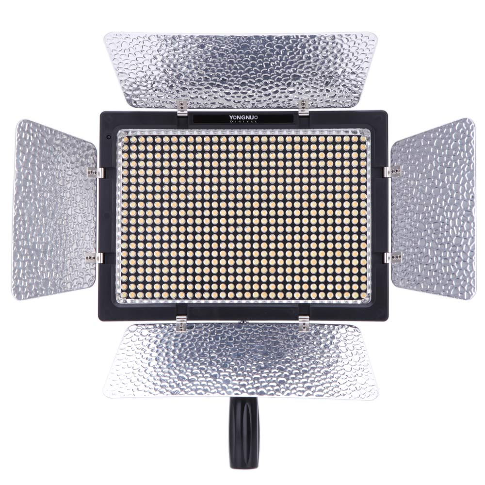 Yongnuo YN-600L 600 LED Studio Video Light 3200k-5500k Lamp Color Temperature with Remoto Control for Canon Sony Camcorder DSLR<br><br>Aliexpress