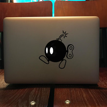 "Bomb Vinyl Laptop Sticker for Apple MacBook Decal 11"" 12"" 13"" 15.6 Air Pro Retina Computer HP Notebook Skin(China)"