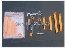 Convenient and practical 12PCS Car Dismantle Install Set For Renault Megane Modus Espace Laguna Duster Logan DACIA Sandero(China)