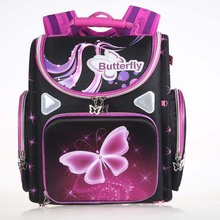 New Winx School Bag Orthopedic Girls Princess Children School Bags butterfly School Backpack Mochila Infantil for boys and girls(China)