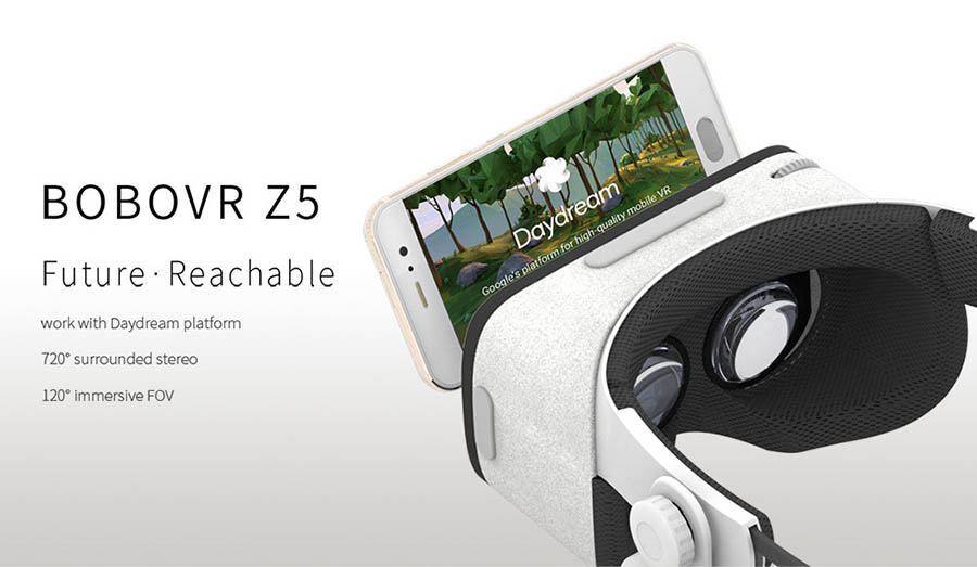 BOBOVR Z5 Virtual Reality 3D Glasses For iphone Samsung Xiaomi Smartphones FOV 120 Degrees VR Stereo Box Cardboard Headset