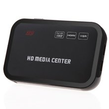 Full HD 1080P Media Player Center RM/RMVB/AVI/MPEG Multi Media Video Player with HDMI VGA AV USB SD/MMC Port Remote Control(China)