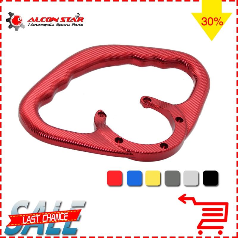 Alconstar- Aluminum Motorcycle Passenger Handgrip Front Hand Grip Tank Grab Bar Handle for Yamaha YZF R1 R6 FZ07  MT07 MT09 TMAX<br>