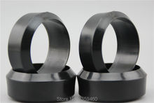 4pcs RC Hard 3 degree Drift Tires Tyre(Black) fits for 1:10 Drift Car 1/10 Drift Tire 20007